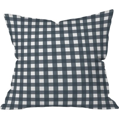 Randall Check Throw Pillow Size: 16 H x 16 W x 4 D