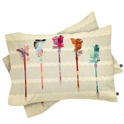 Feathered Arrows Pillowcase