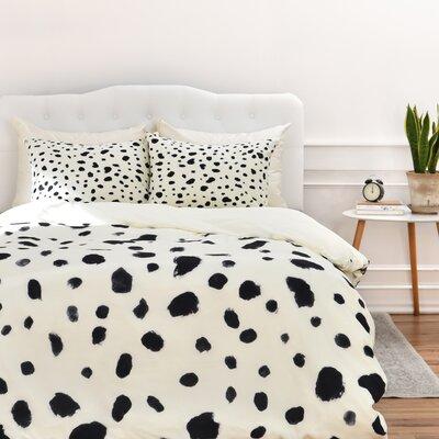 Dalmatian Duvet Cover Size: Queen