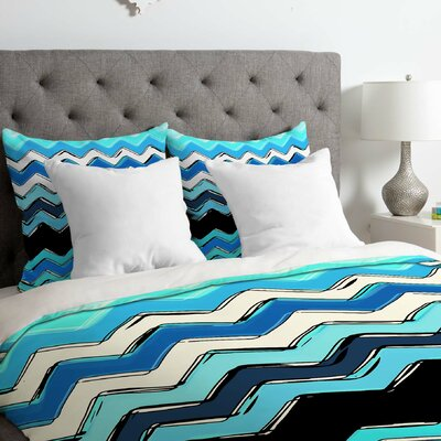 Chevron Duvet Cover Size: Twin/Twin XL
