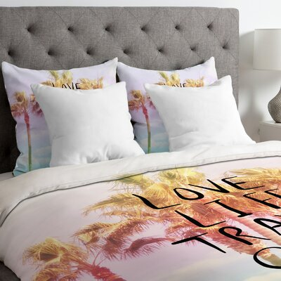 Lisa Argyropoulos Love Life Travel Often Tropical Duvet Cover Size: Twin/Twin XL