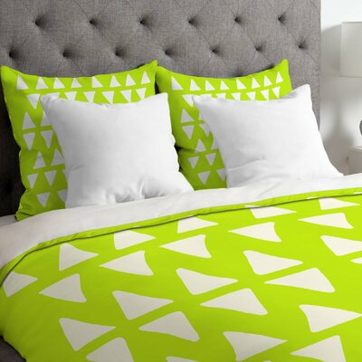 Leah Flores Pineapple Dreams Duvet Cover Size: King