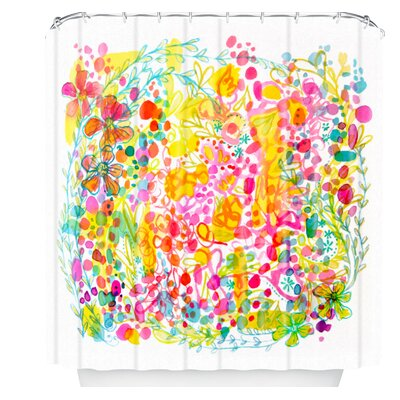 Stephanie Corfee Bubble Garden Shower Curtain