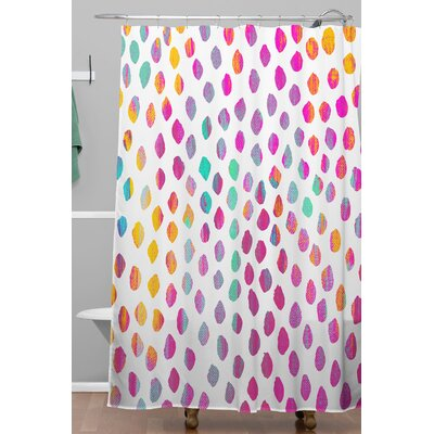 Elisabeth Fredriksson Paradise Dots Shower Curtain