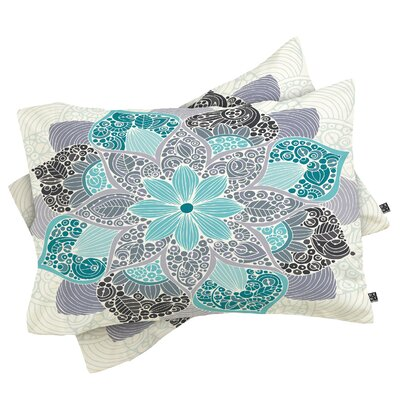 Petunia Mandala Pillowcase