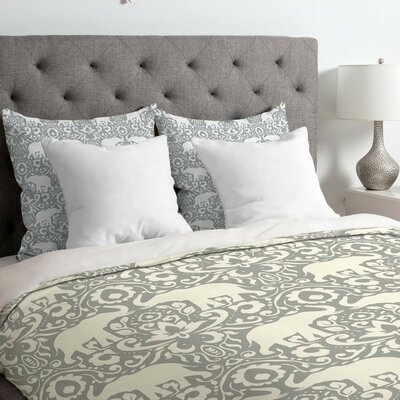Elephant Duvet Cover Size: King