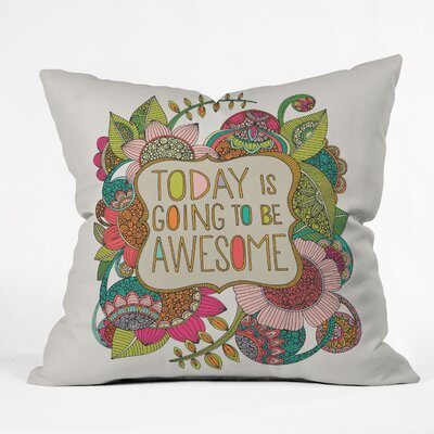 Indoor/Outdoor Throw Pillow Size: 18 H x 18 W x 5 D