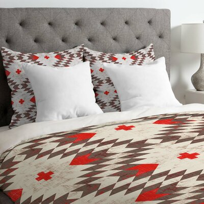 Holli Zollinger Native Rustic Duvet Cover Size: King