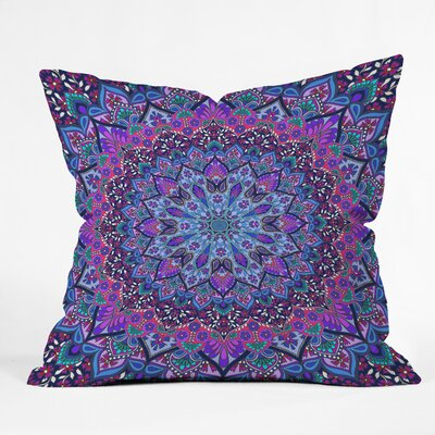 Aimee St Hill Farah Throw Pillow Size: 16 H x 16 W x 4 D, Color: Blue