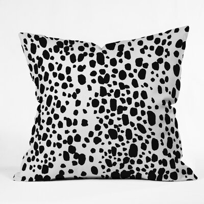 Spotted Throw Pillow Size: 18 H x 18 W x 5 D