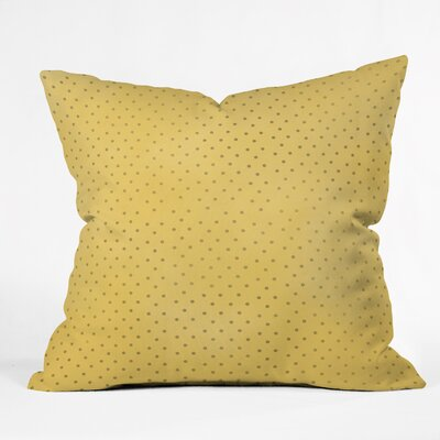 Dot Throw Pillow Size: 18 H x 18 W x 5 D