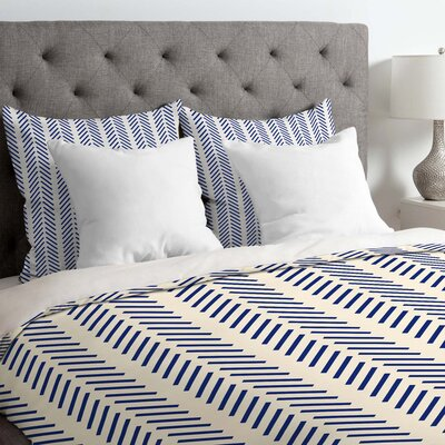 Lines Duvet Cover Size: Queen