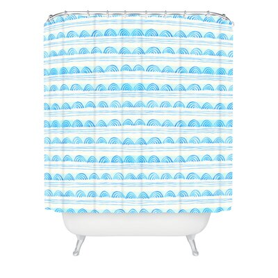 Scallops Shower Curtain