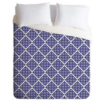 Knots Duvet Cover Size: Queen