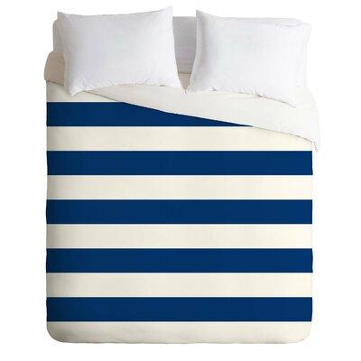 Holli Zollinger Stripe Duvet Cover Size: King
