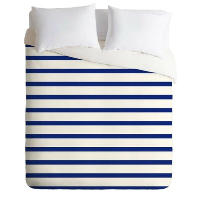 Stripe Duvet Cover Size: King