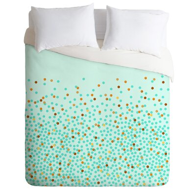 Iveta Abolina Splash Duvet Cover Size: King