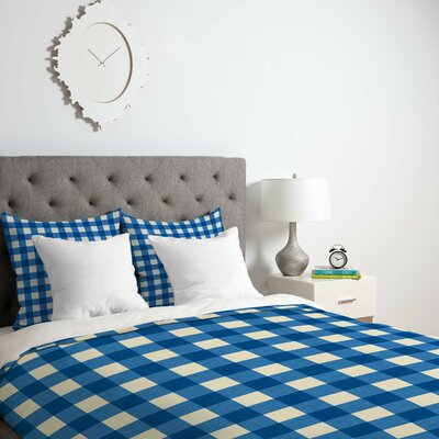 Gingham Duvet Cover Size: Twin/Twin XL