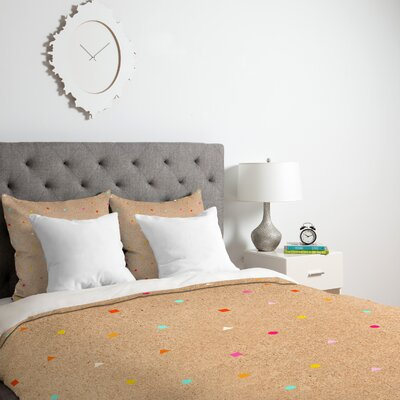 Iveta Abolina Taffy Duvet Cover Size: King