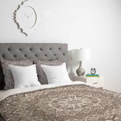Neutral Duvet Cover Size: King