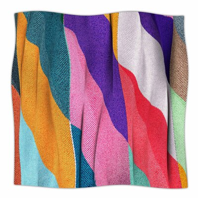 Timeless Texture By Danny Ivan Fleece Blanket Size: 80 L x 60 W x 1 D