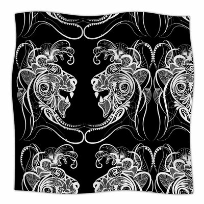 Lion By Maria Bazarova Fleece Blanket Size: 80 L x 60 W x 1 D