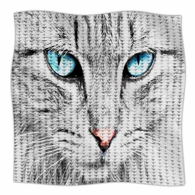Cat By Suzanne Carter Fleece Blanket Size: 80 L x 60 W x 1 D