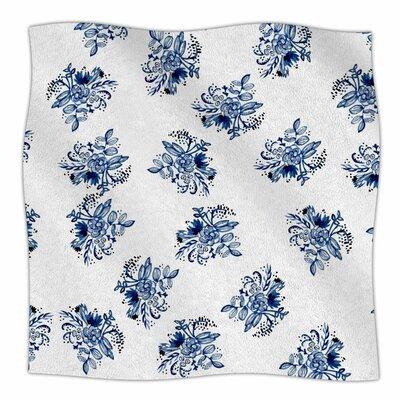 Patina Letters I By Jennifer Rizzo Fleece Blanket Size: 60 L x 50 W x 1 D