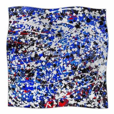 Heiveilea In Blue By Bruce Stanfield Fleece Blanket Size: 60 L x 50 W x 1 D