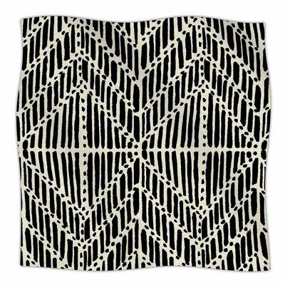 Tribal Drawings By DLKG Design Fleece Blanket Size: 80 L x 60 W x 1 D