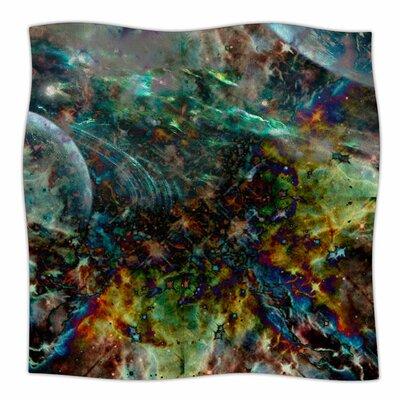 Space By Shirlei Patricia Muniz Fleece Blanket Size: 60 L x 50 W x 1 D