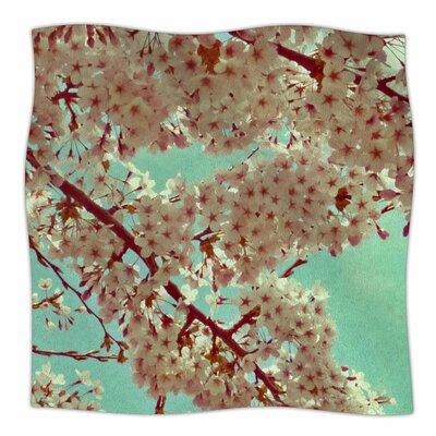 April By Alison Coxon Fleece Blanket Size: 80 L x 60 W x 1 D