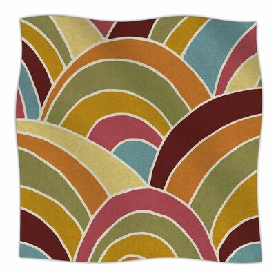Arcs By Nacho Filella Fleece Blanket Size: 80 L x 60 W x 1 D
