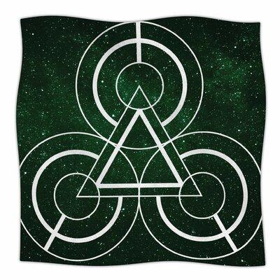 Emerald City By Matt Eklund Fleece Blanket Size: 80 L x 60 W x 1 D