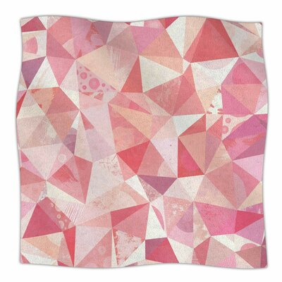 Crumpled By Nic Squirrell Fleece Blanket Size: 60 L x 50 W x 1 D