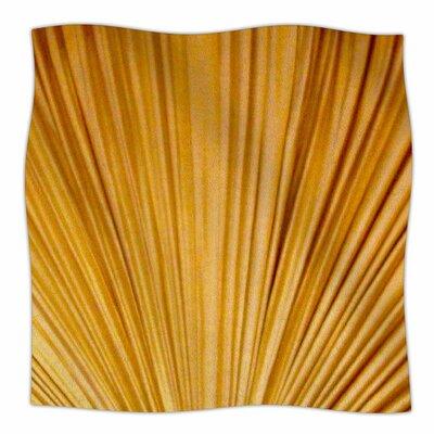 Golden Curtains By Philip Brown Fleece Blanket Size: 60 L x 50 W x 1 D