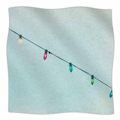 Dream A Little Dream By Ann Barnes Fleece Blanket Size: 80 L x 60 W x 1 D