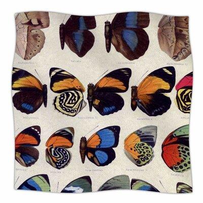 Vintage Wings By Suzanne Carter Fleece Blanket Size: 80 L x 60 W x 1 D