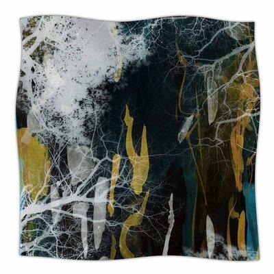 Tree Of Life By Iris Lehnhardt Fleece Blanket Size: 60 L x 50 W x 1 D, Color: Blue