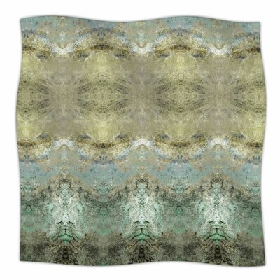 Heavenly Abstractation By Pia Schneider Fleece Blanket Size: 80 L x 60 W x 1 D