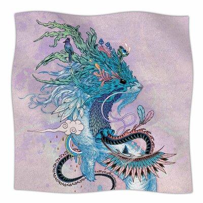 Journeying Spirit Ermine By Mat Miller Fleece Blanket Size: 60 L x 50 W x 1 D