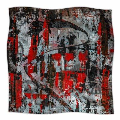 Zinger In Red By Bruce Stanfield Fleece Blanket Size: 60 L x 50 W x 1 D