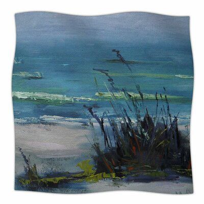 Sanibel By Carol Schiff Fleece Blanket Size: 80 L x 60 W x 1 D