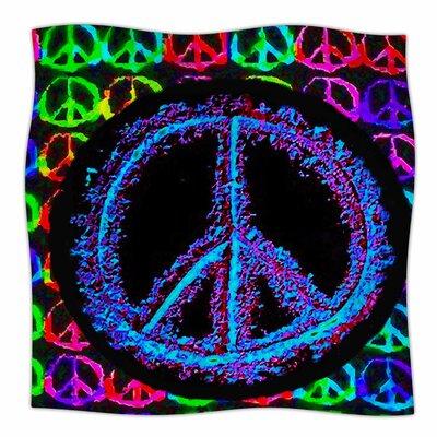 Heavenly Peace By Anne LaBrie Fleece Blanket Size: 80 L x 60 W x 1 D