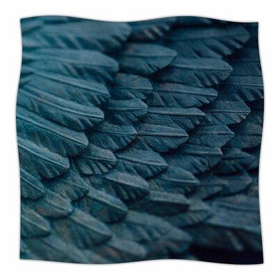 Ombre Angel By Ann Barnes Fleece Blanket Size: 60 L x 50 W x 1 D