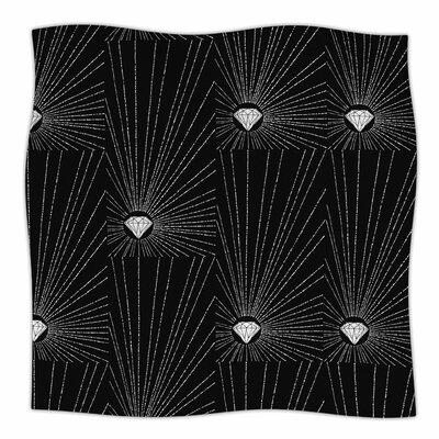 Diamond By BarmalisiRTB Fleece Blanket Size: 80 L x 60 W x 1 D