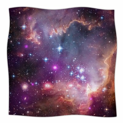 Cosmic Cloud By Suzanne Carter  Fleece Blanket Size: 60 L x 50 W x 1 D