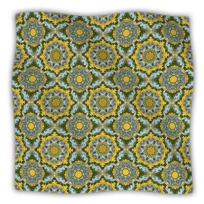 Sunflower by Alison Soupcoff Fleece Blanket Size: 50 W x 60 L