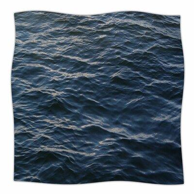Deep Water By Suzanne Carter Fleece Blanket Size: 80 L x 60 W x 1 D