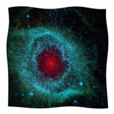 Helix Nebula By Suzanne Carter Fleece Blanket Size: 80 L x 60 W x 1 D